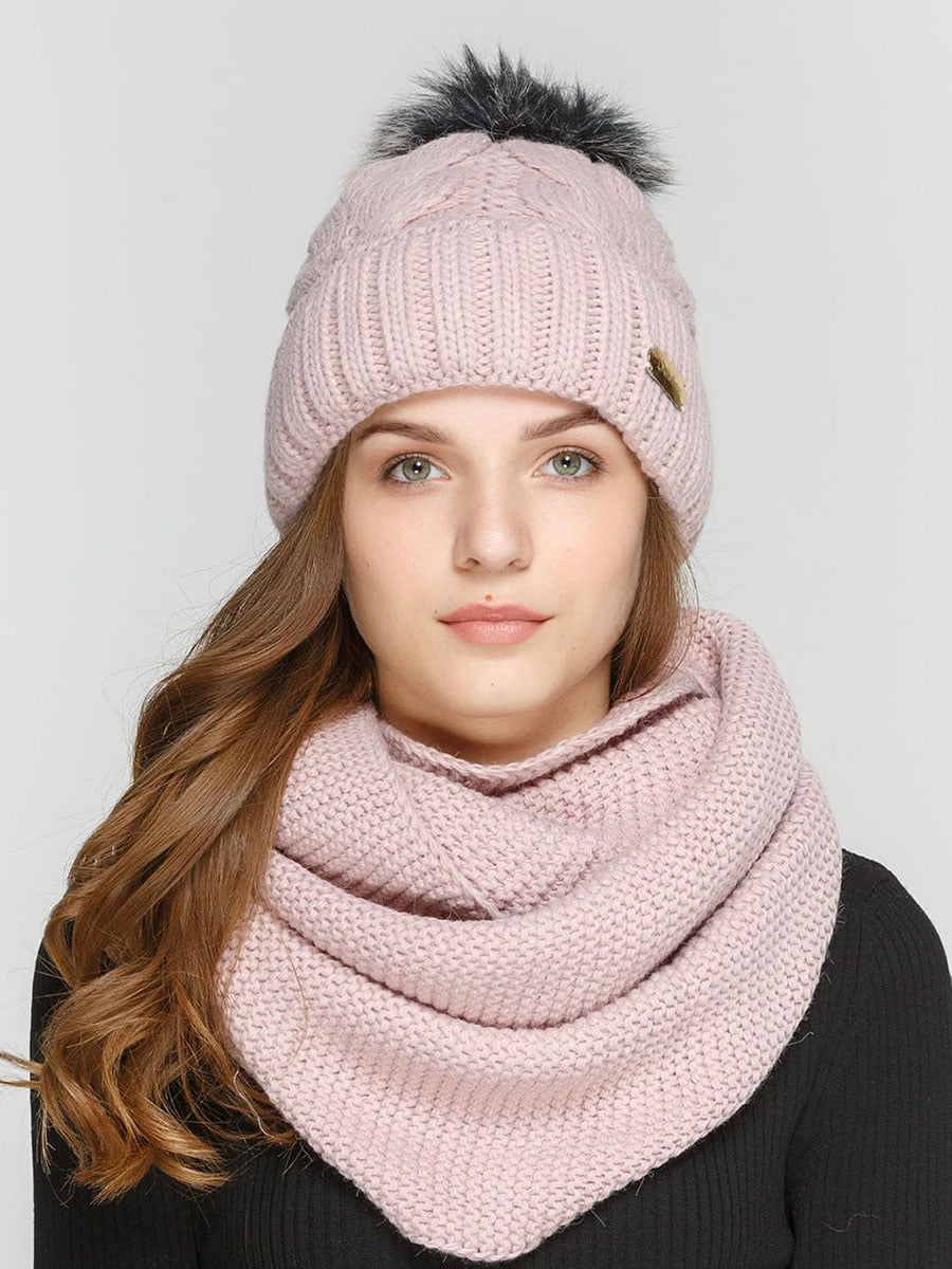 Комплект: шапка і шарф-снуд | 5640539