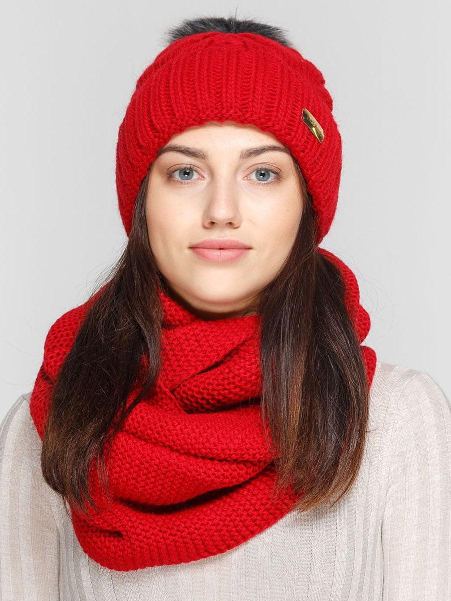 Комплект: шапка и шарф-снуд | 5640541