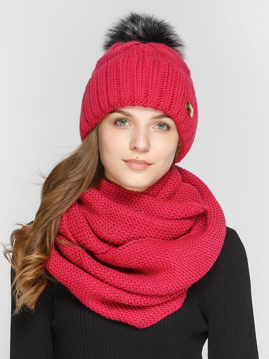 Комплект: шапка и шарф-снуд | 5640546