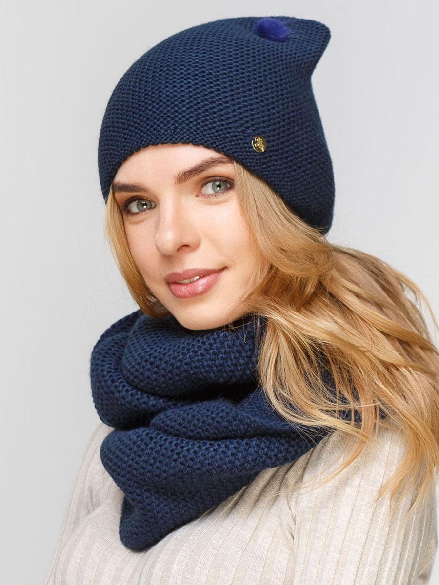 Комплект: шапка и шарф-снуд | 5640548