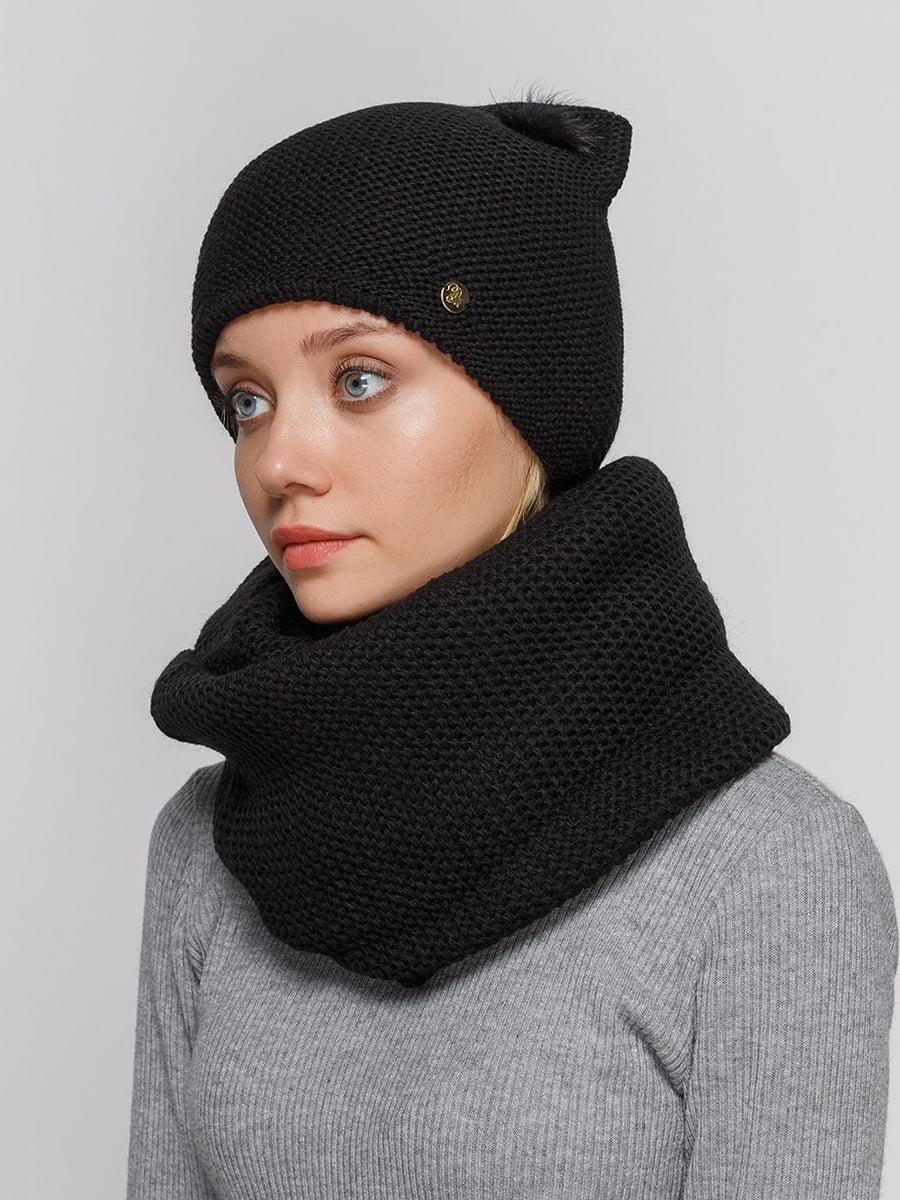 Комплект: шапка і шарф-снуд   5640549