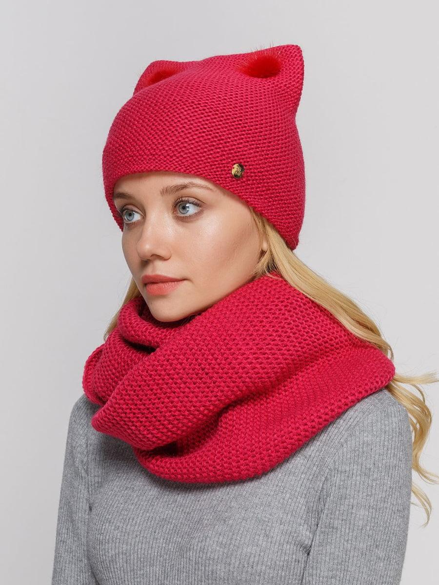 Комплект: шапка и шарф-снуд   5640552