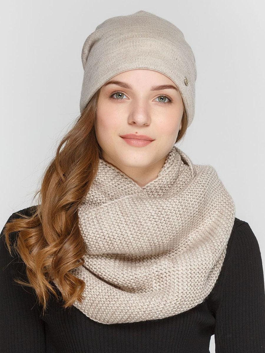 Комплект: шапка и шарф-снуд   5640555