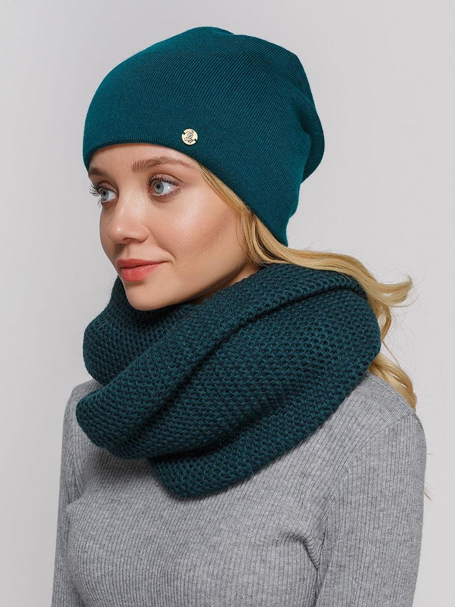 Комплект: шапка і шарф-снуд | 5640560