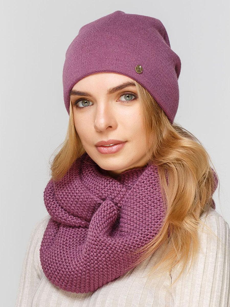 Комплект: шапка і шарф-снуд | 5640563