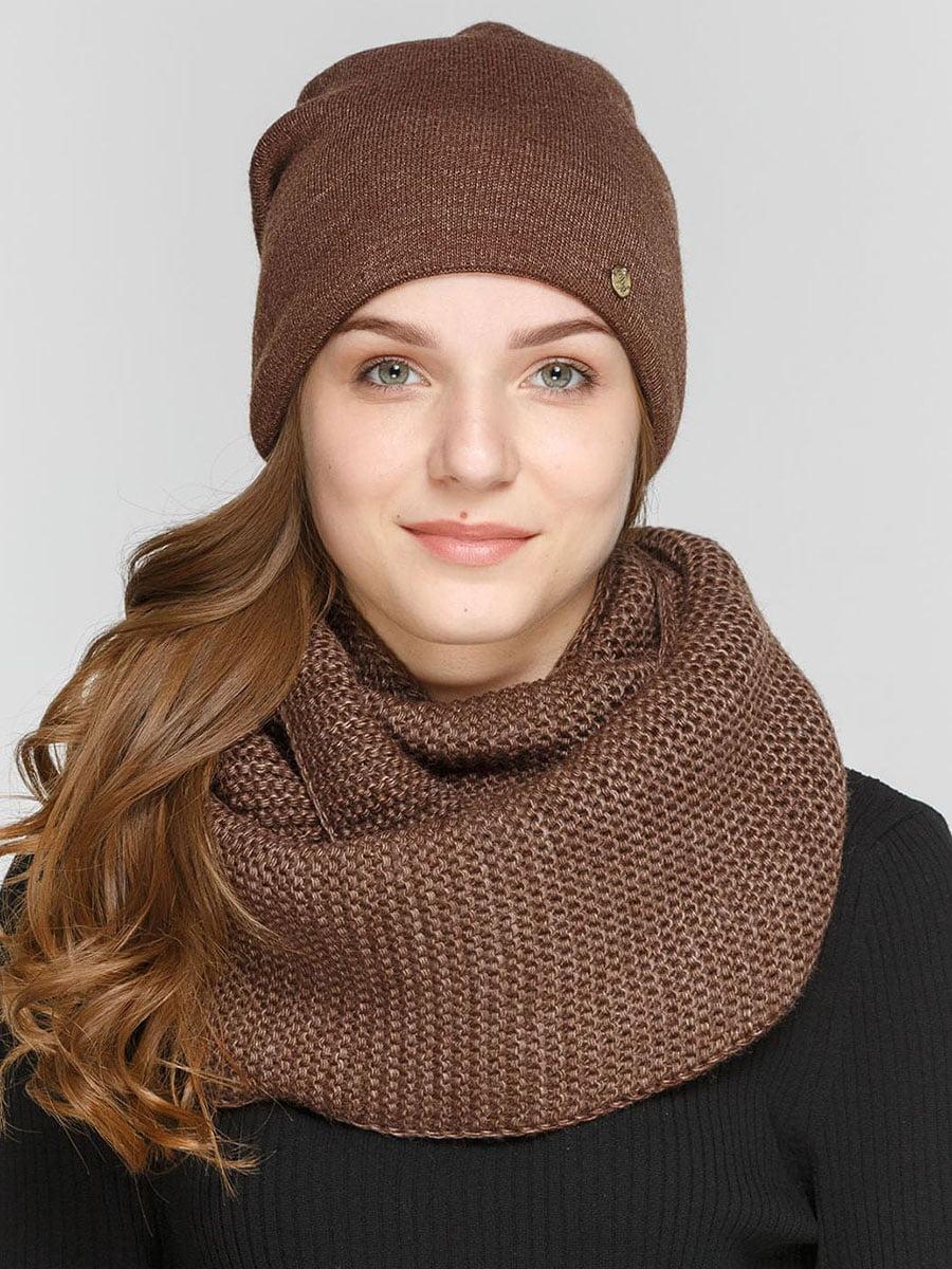 Комплект: шапка и шарф-снуд | 5640564