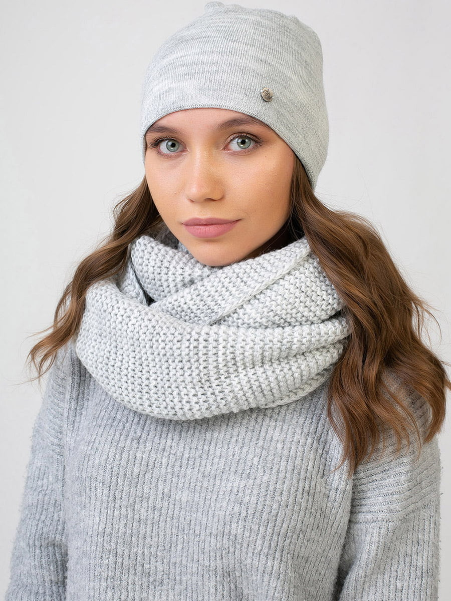 Комплект: шапка і шарф-снуд | 5640565