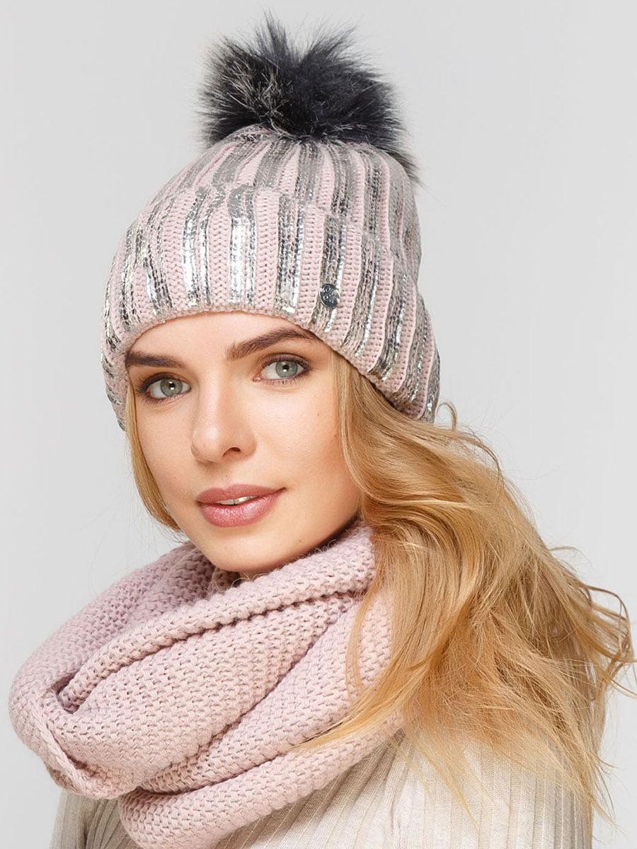 Комплект: шапка і шарф-снуд | 5640567
