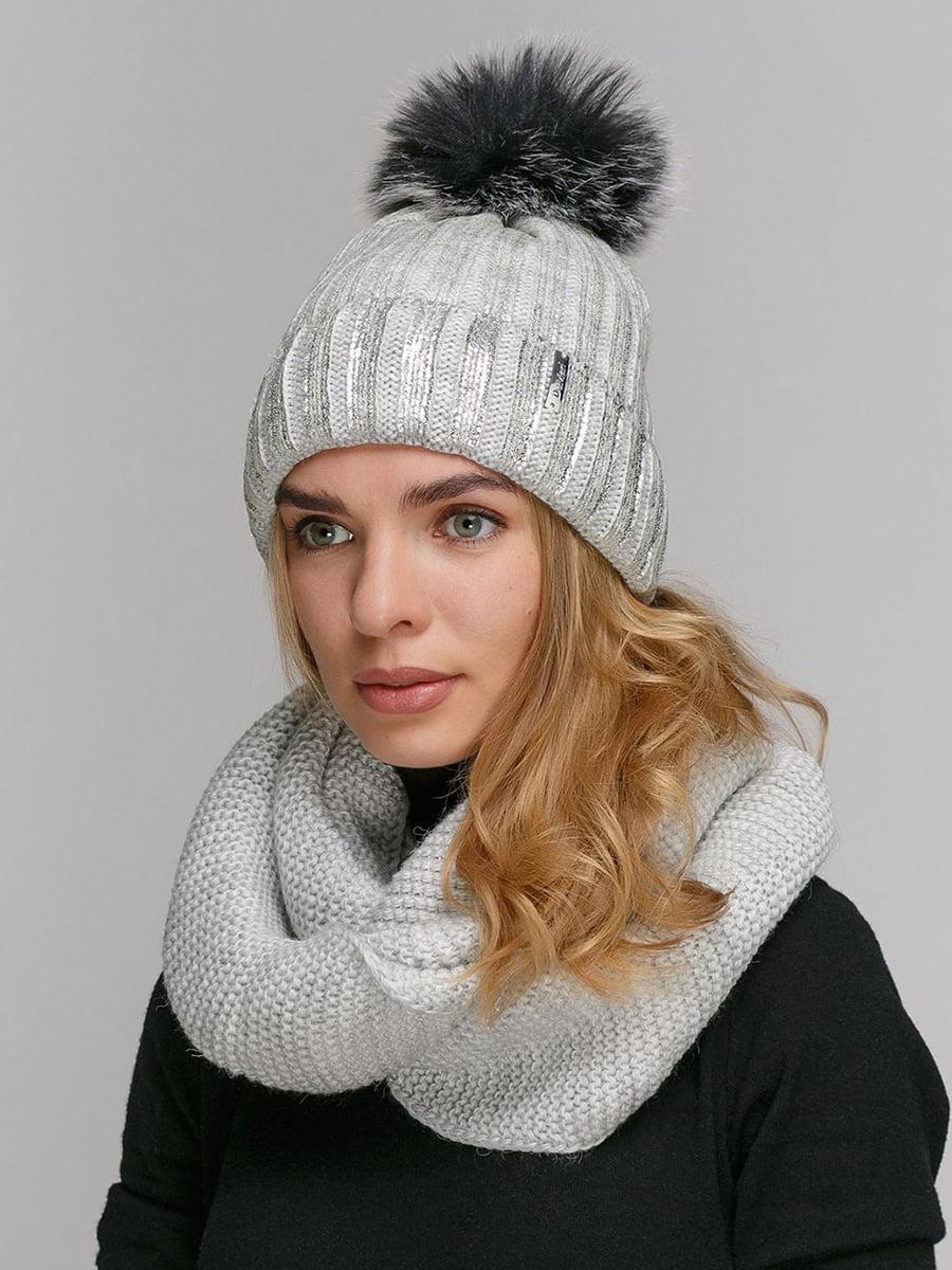 Комплект: шапка і шарф-снуд | 5640573