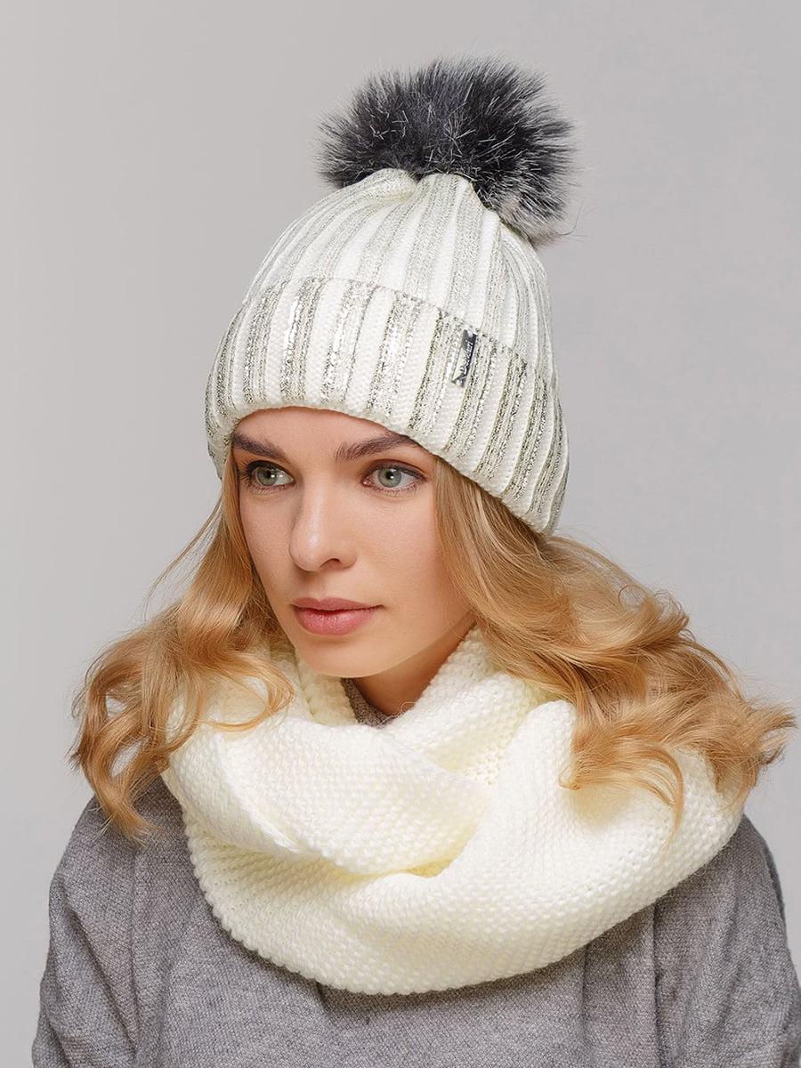 Комплект: шапка и шарф-снуд | 5640574