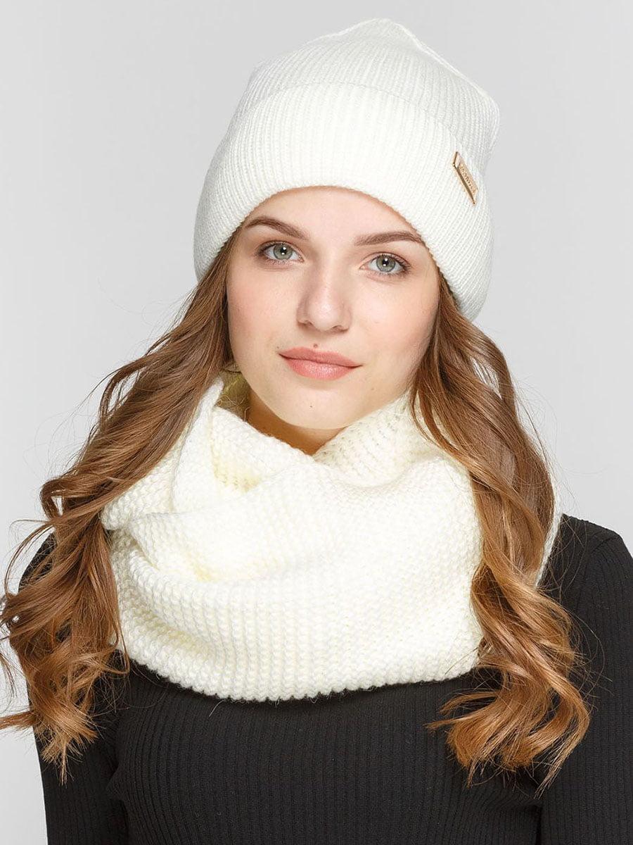 Комплект: шапка и шарф-снуд | 5640575