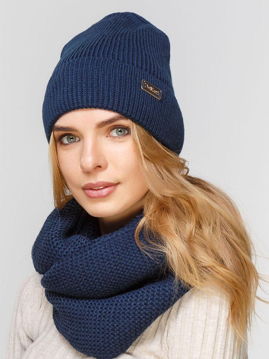 Комплект: шапка и шарф-снуд | 5640578