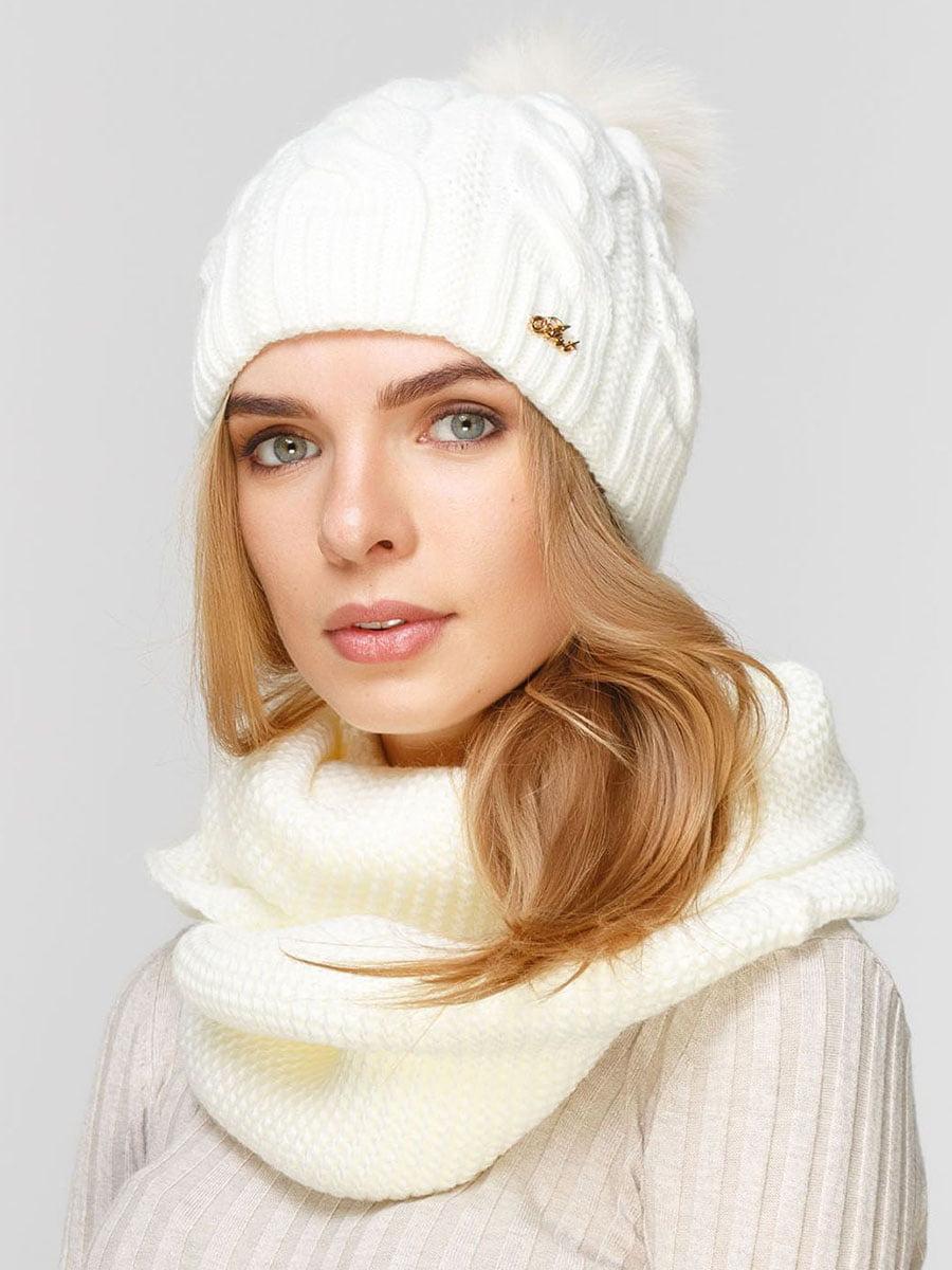 Комплект: шапка і шарф-снуд | 5640612