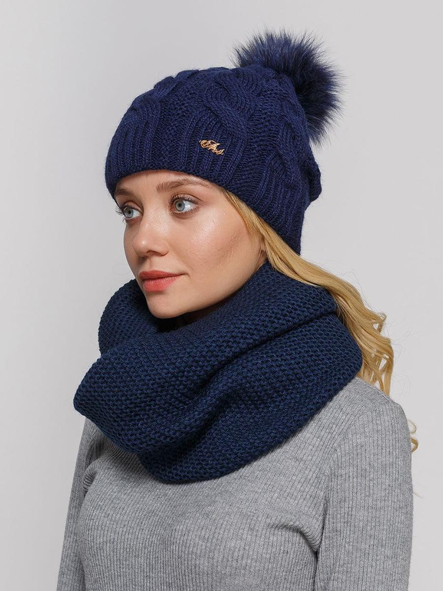 Комплект: шапка и шарф-снуд | 5640613
