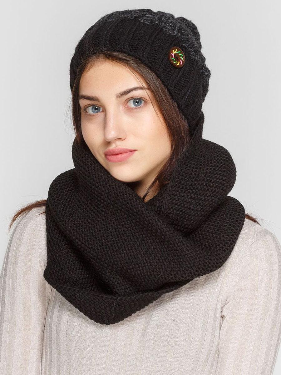 Комплект: шапка и шарф-снуд | 5640627