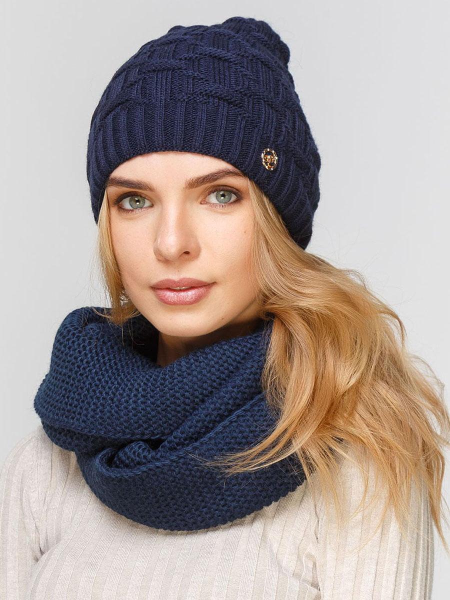 Комплект: шапка и шарф-снуд | 5640633