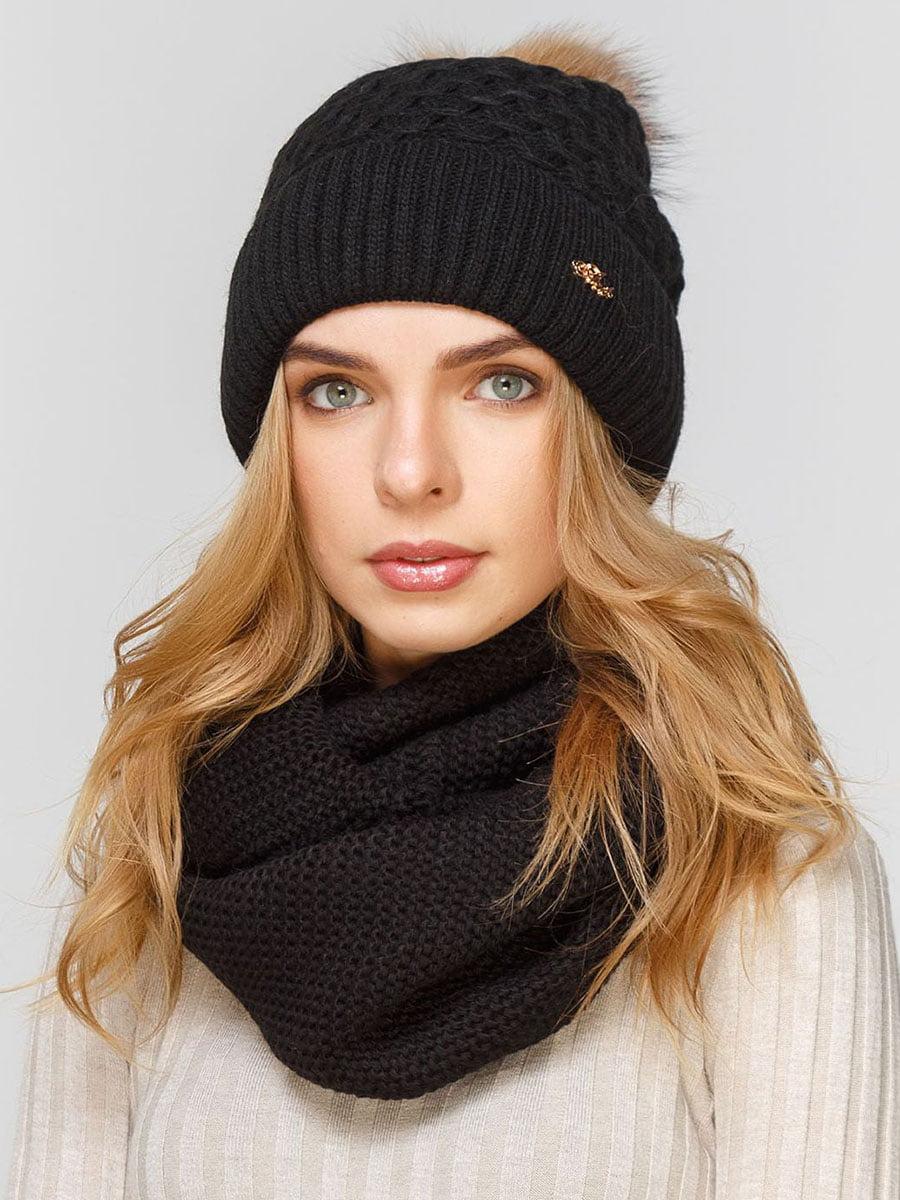 Комплект: шапка і шарф-снуд | 5640635
