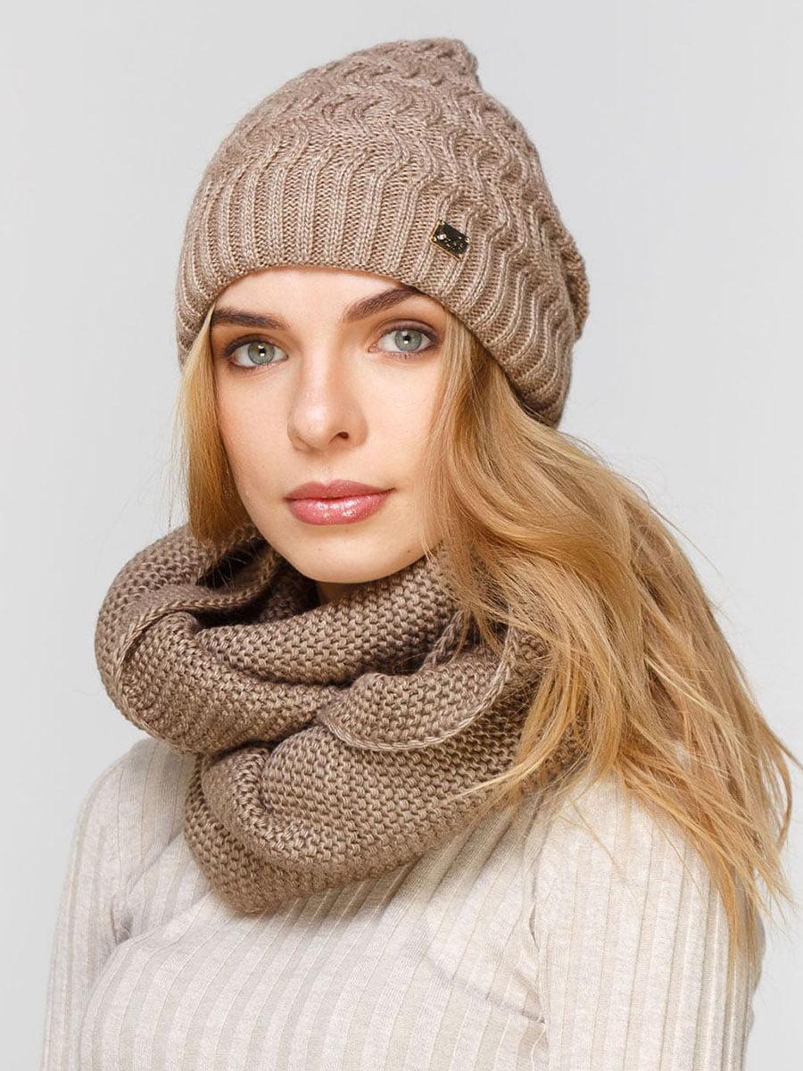 Комплект: шапка и шарф-снуд | 5640644