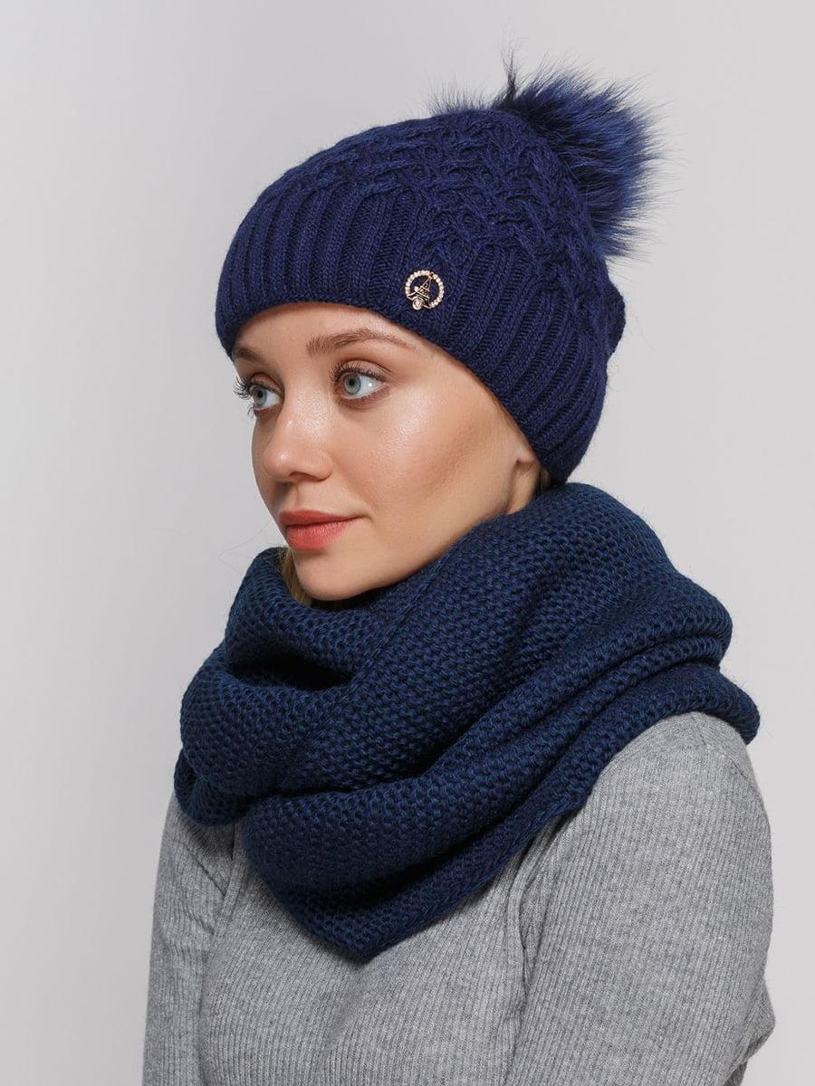 Комплект: шапка і шарф-снуд | 5640648
