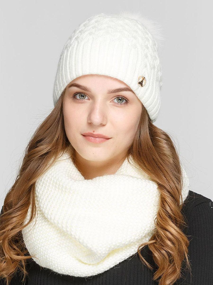 Комплект: шапка і шарф-снуд | 5640650