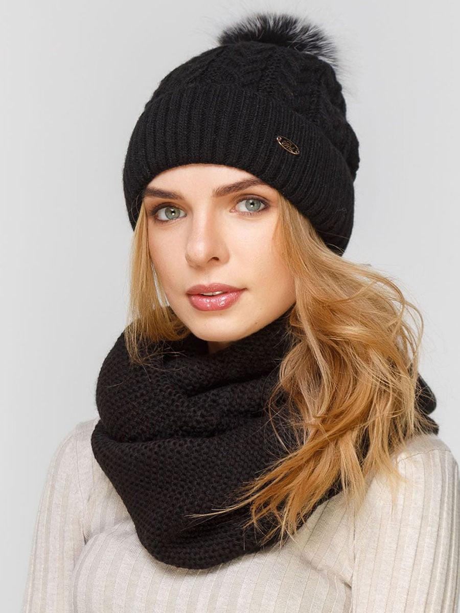 Комплект: шапка и шарф-снуд   5640653