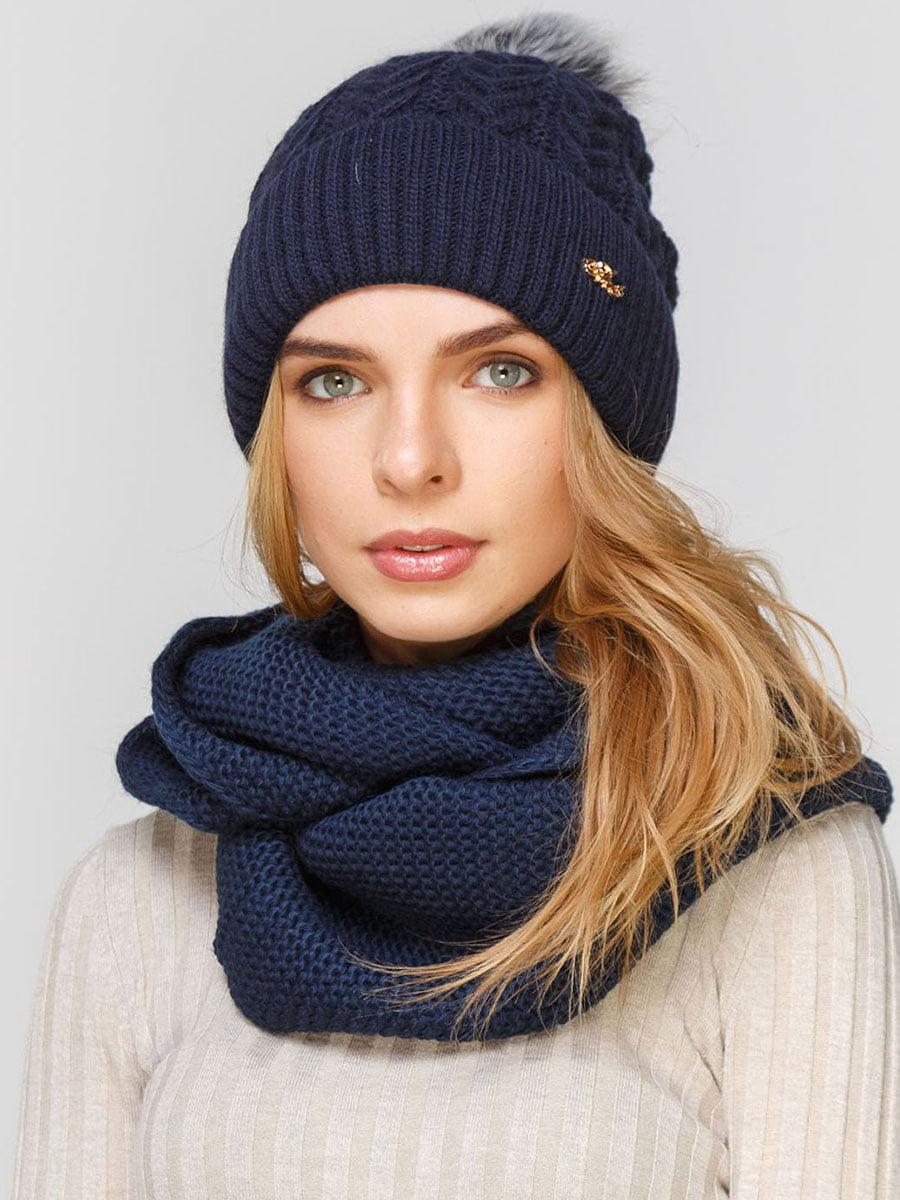 Комплект: шапка і шарф-снуд   5640658