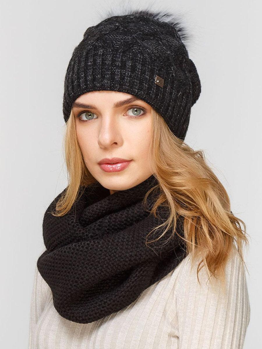 Комплект: шапка і шарф-снуд | 5640659