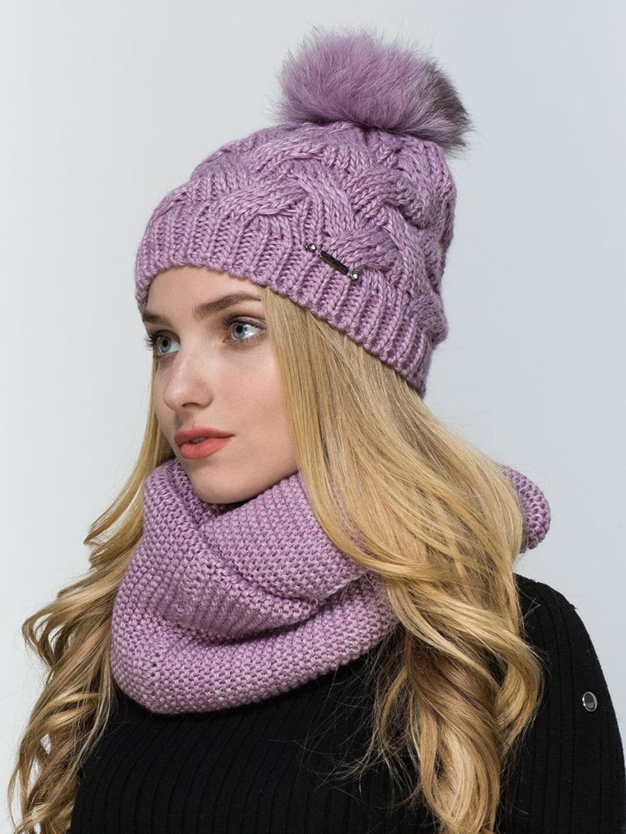Комплект: шапка и шарф-снуд | 5640667