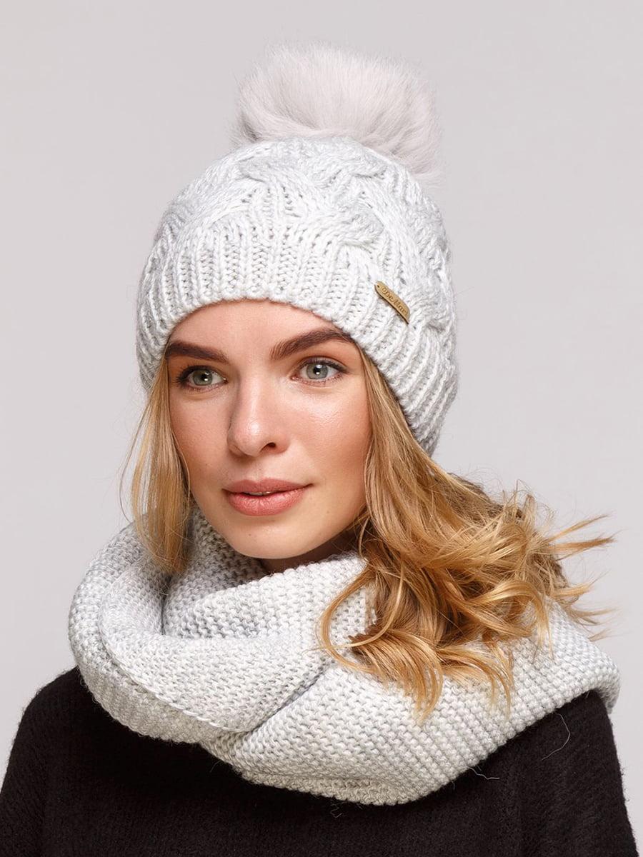Комплект: шапка і шарф-снуд | 5640669