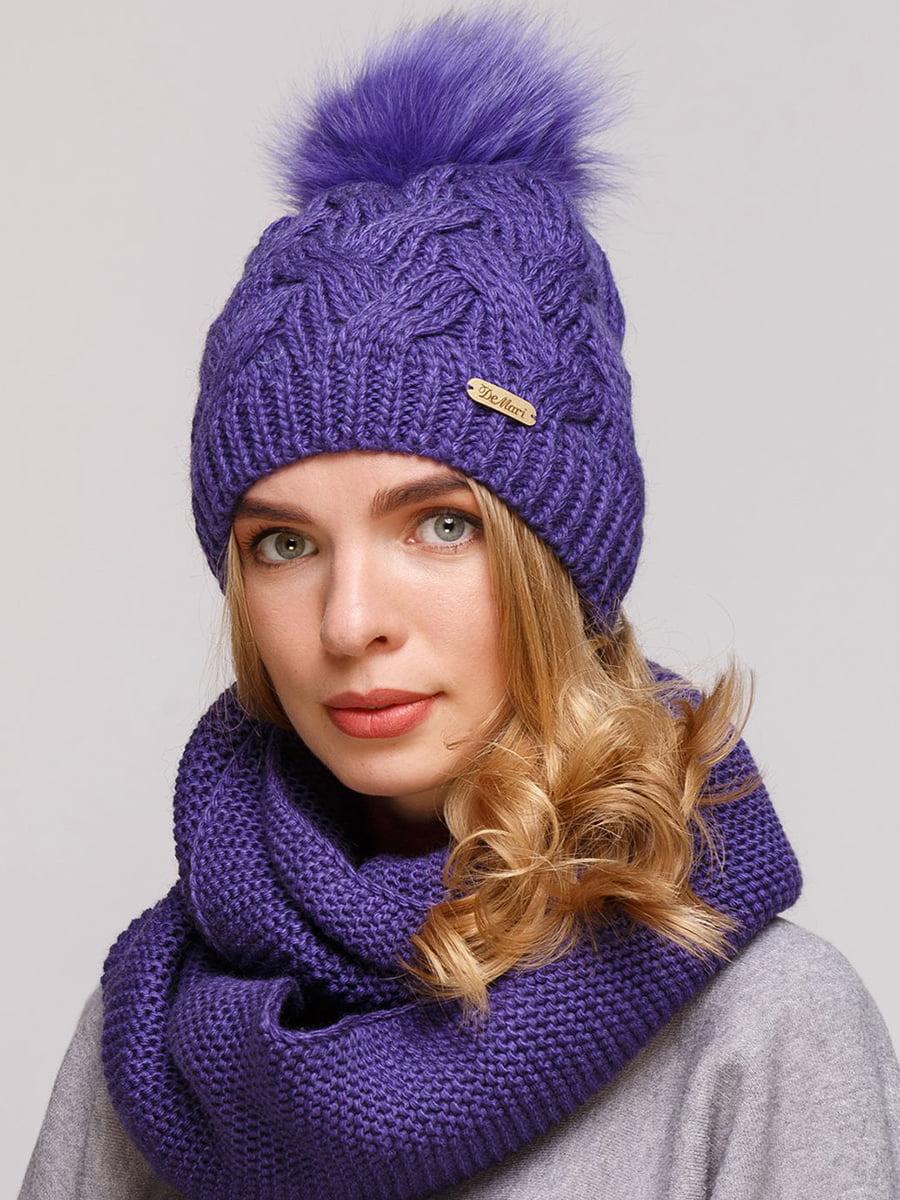 Комплект: шапка и шарф-снуд   5640670