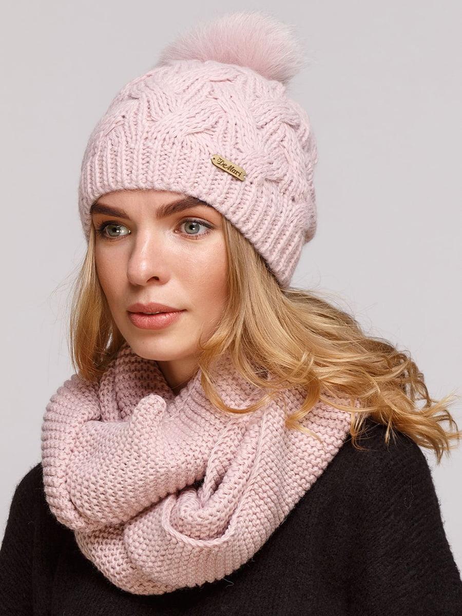 Комплект: шапка и шарф-снуд   5640671