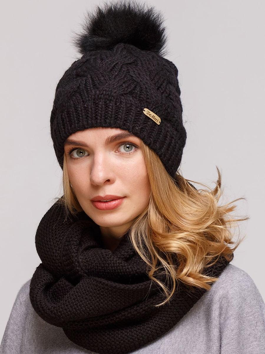 Комплект: шапка і шарф-снуд   5640672