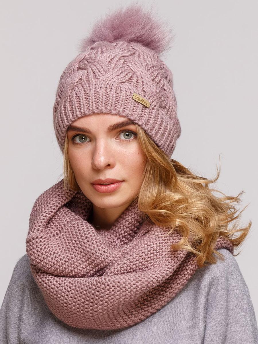 Комплект: шапка і шарф-снуд | 5640673