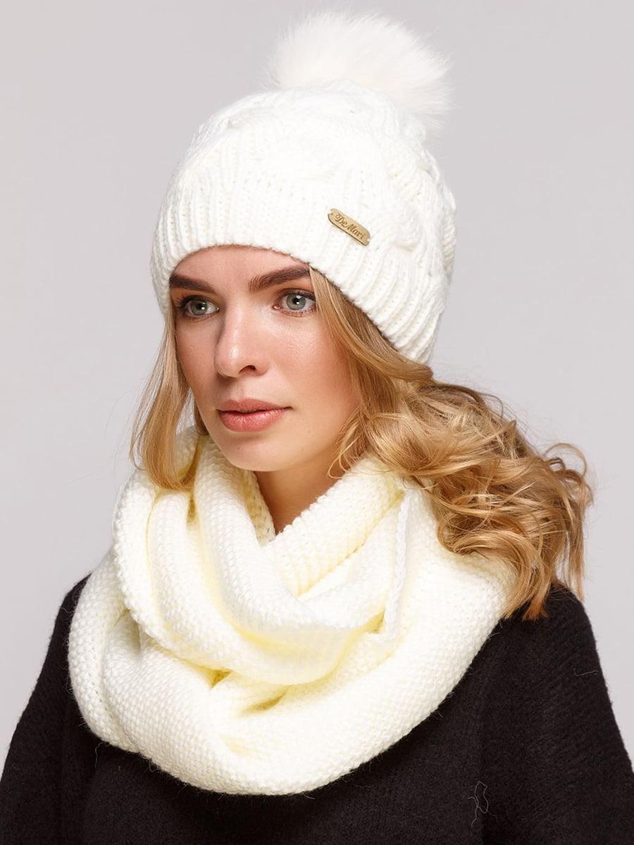 Комплект: шапка и шарф-снуд | 5640676