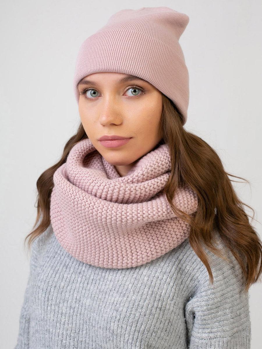 Комплект: шапка і шарф-снуд | 5640701
