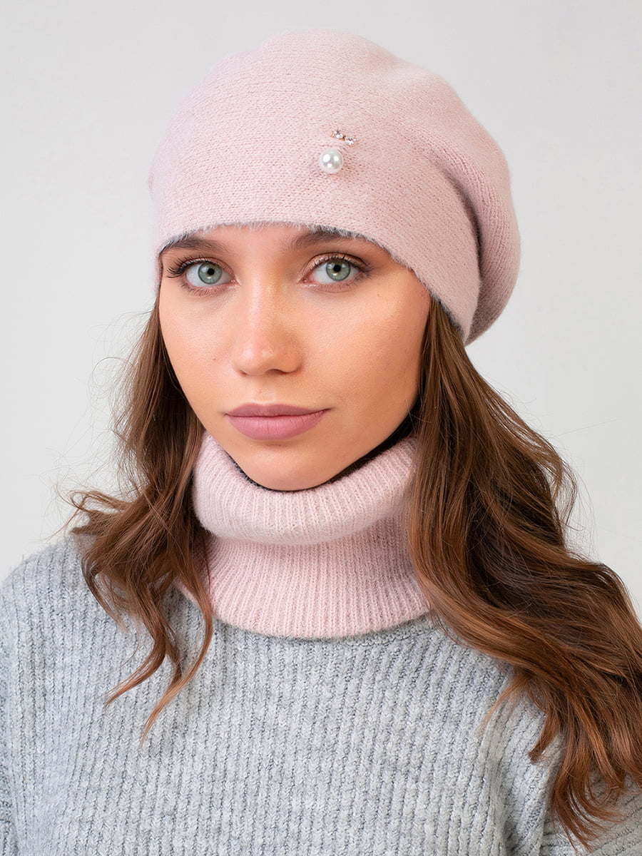 Комплект: берет і шарф-снуд | 5640720