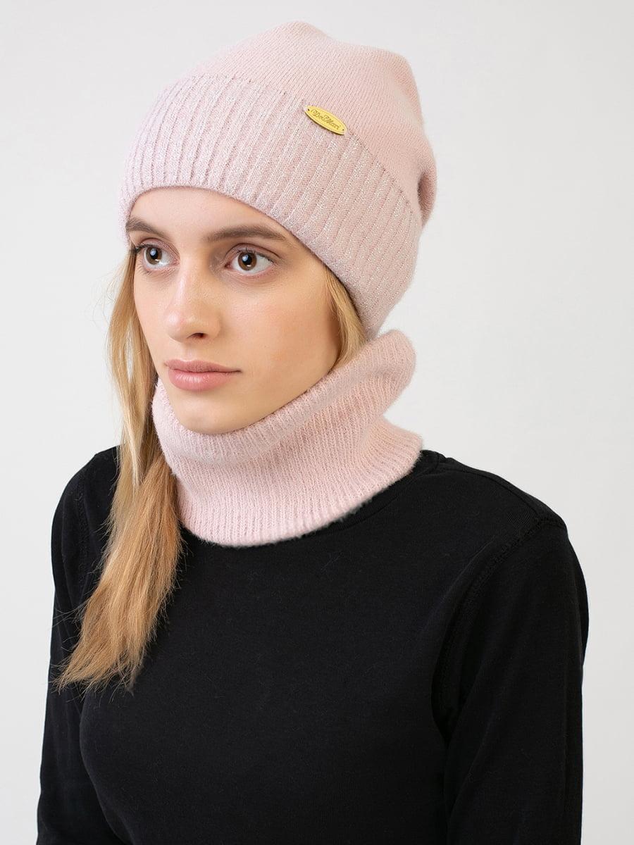Комплект: шапка і шарф-снуд | 5640725