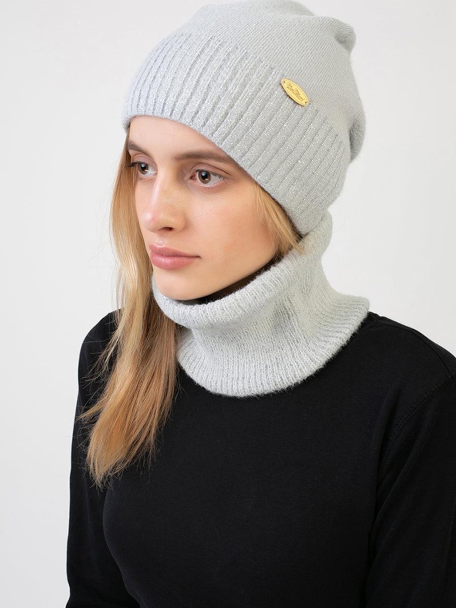 Комплект: шапка і шарф-снуд | 5640727