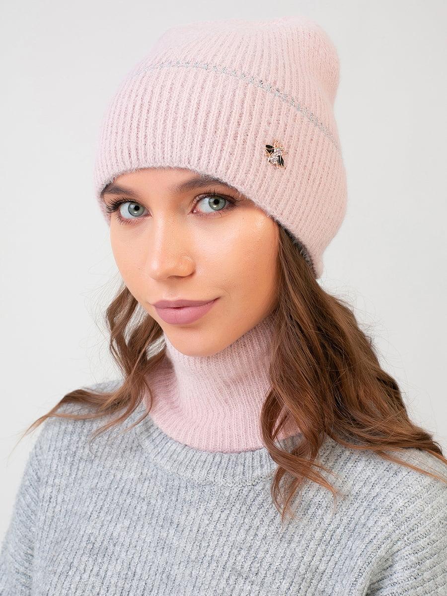 Комплект: шапка і шарф-снуд   5640728