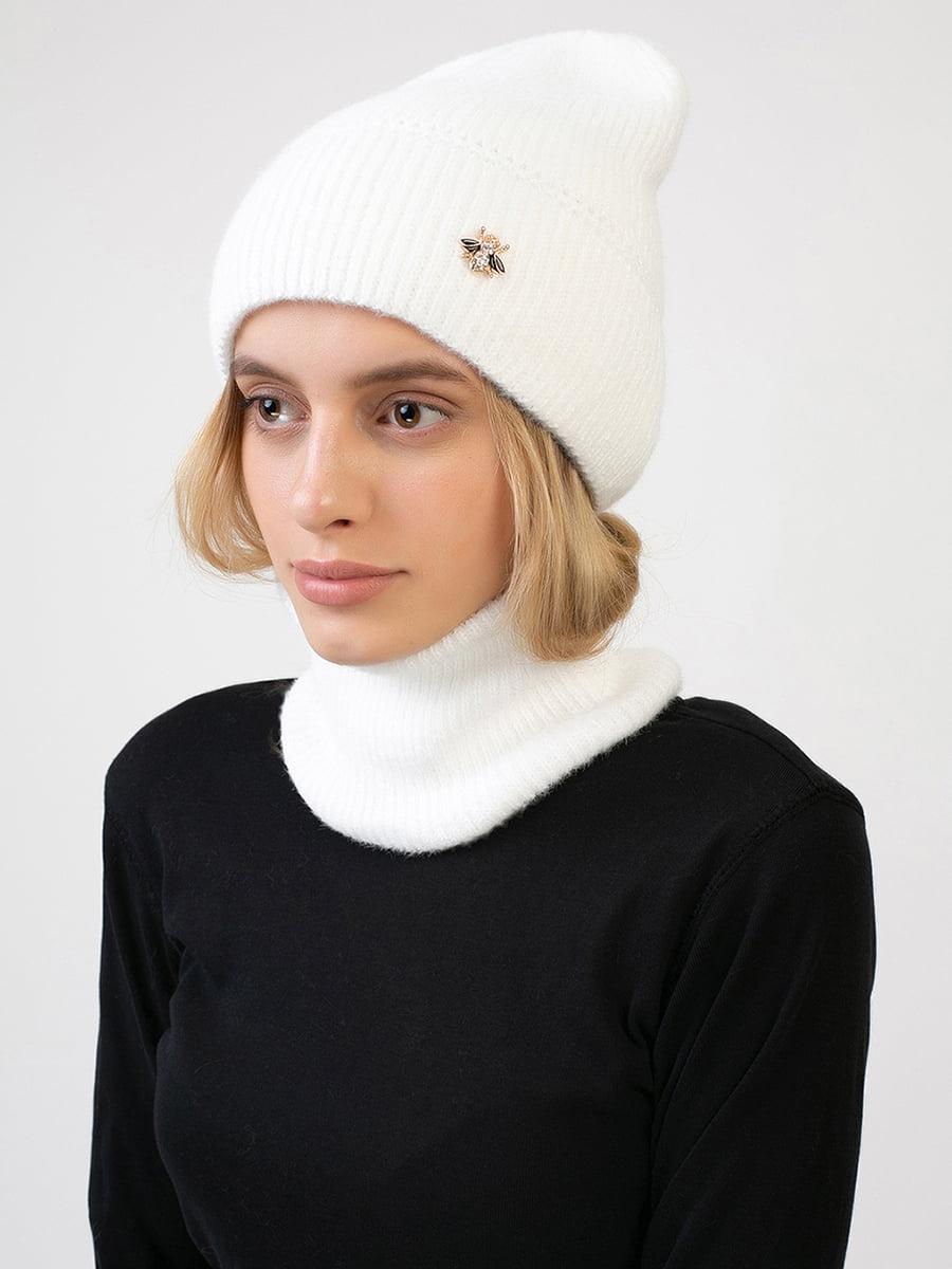 Комплект: шапка і шарф-снуд | 5640729