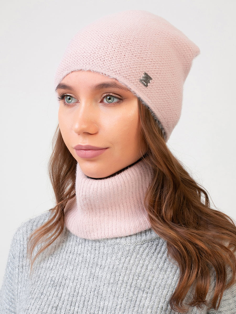 Комплект: шапка і шарф-снуд | 5640732