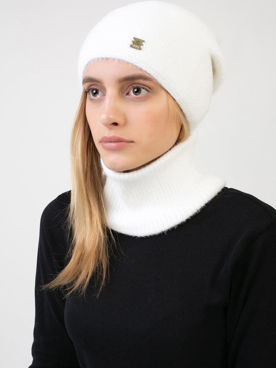 Комплект: шапка і шарф-снуд | 5640733