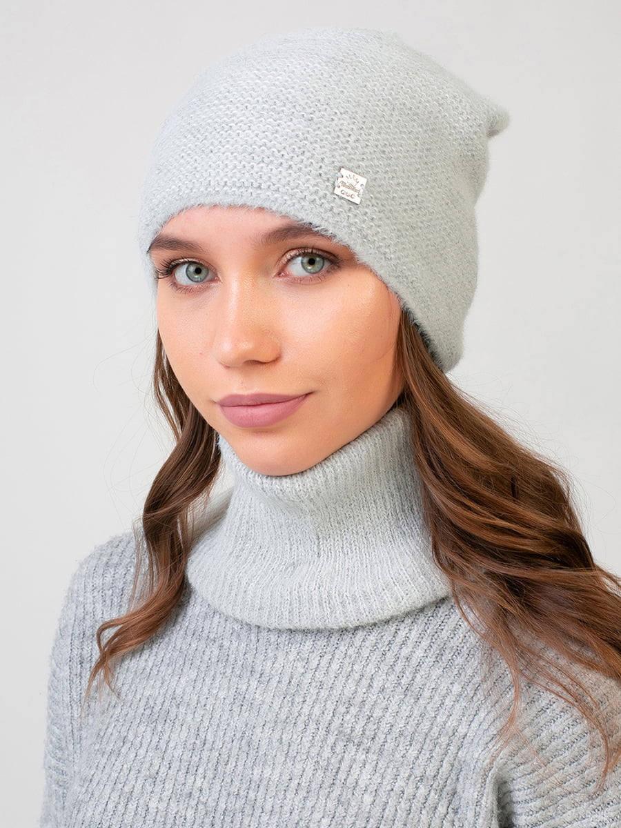 Комплект: шапка і шарф-снуд   5640734