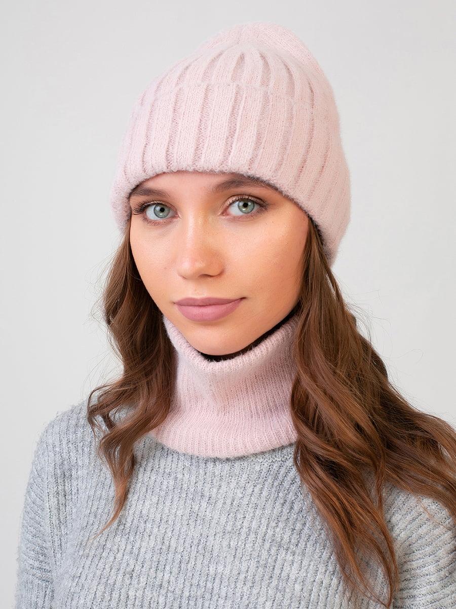 Комплект: шапка и шарф-снуд | 5640737