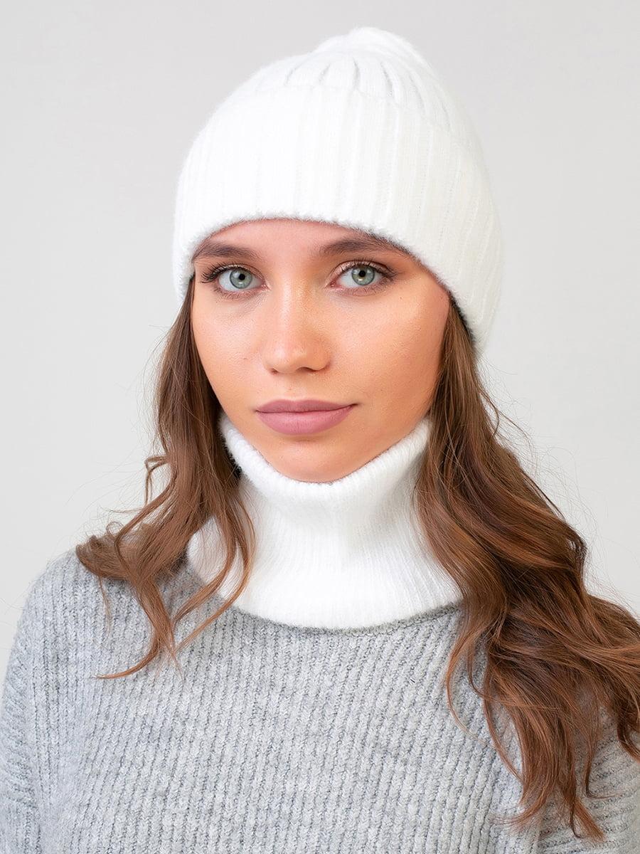 Комплект: шапка и шарф-снуд | 5640738
