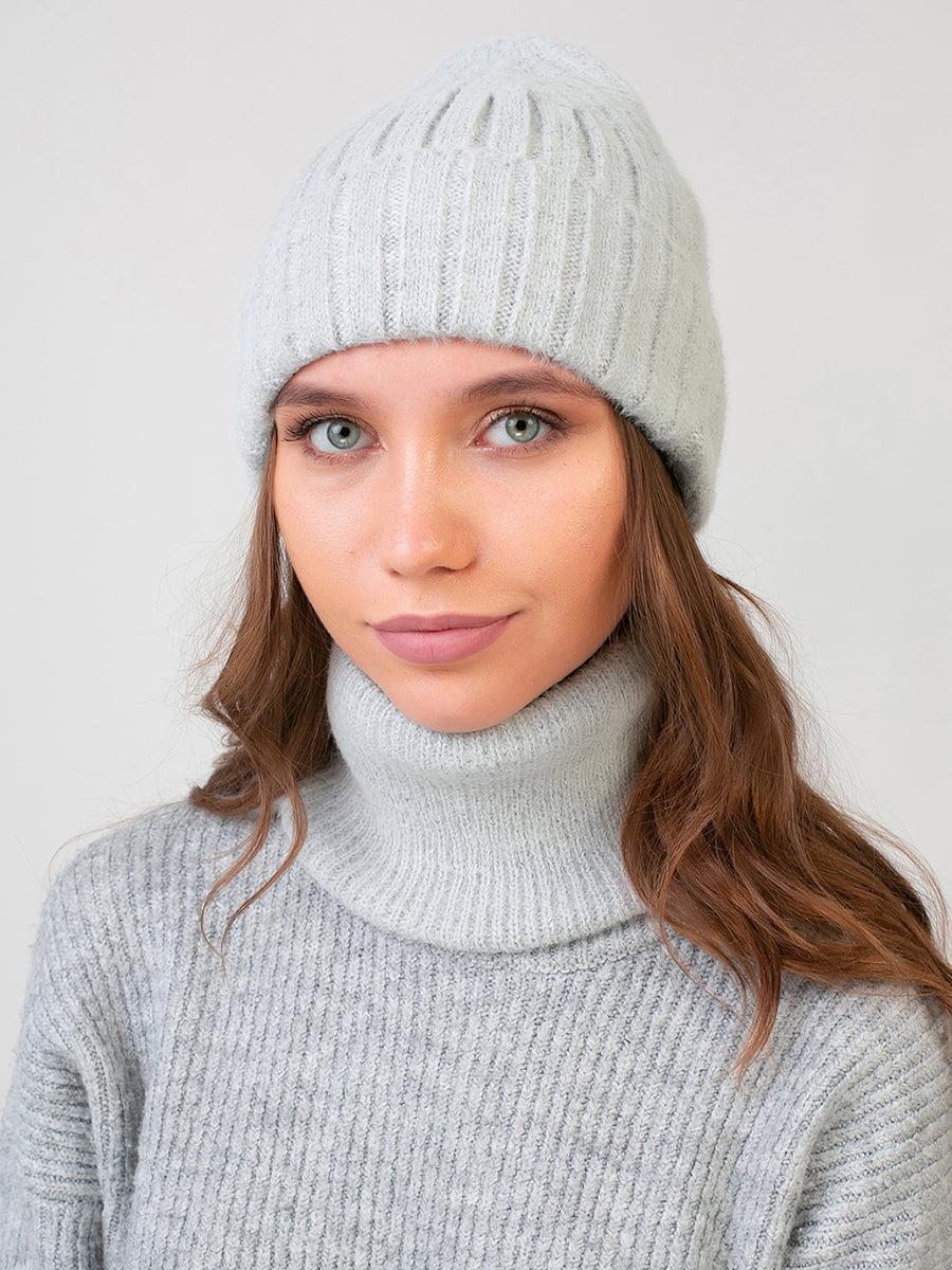 Комплект: шапка і шарф-снуд | 5640739