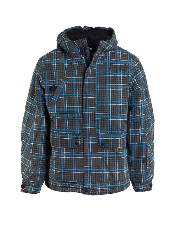 Куртка лижна в клітинку | 5598128
