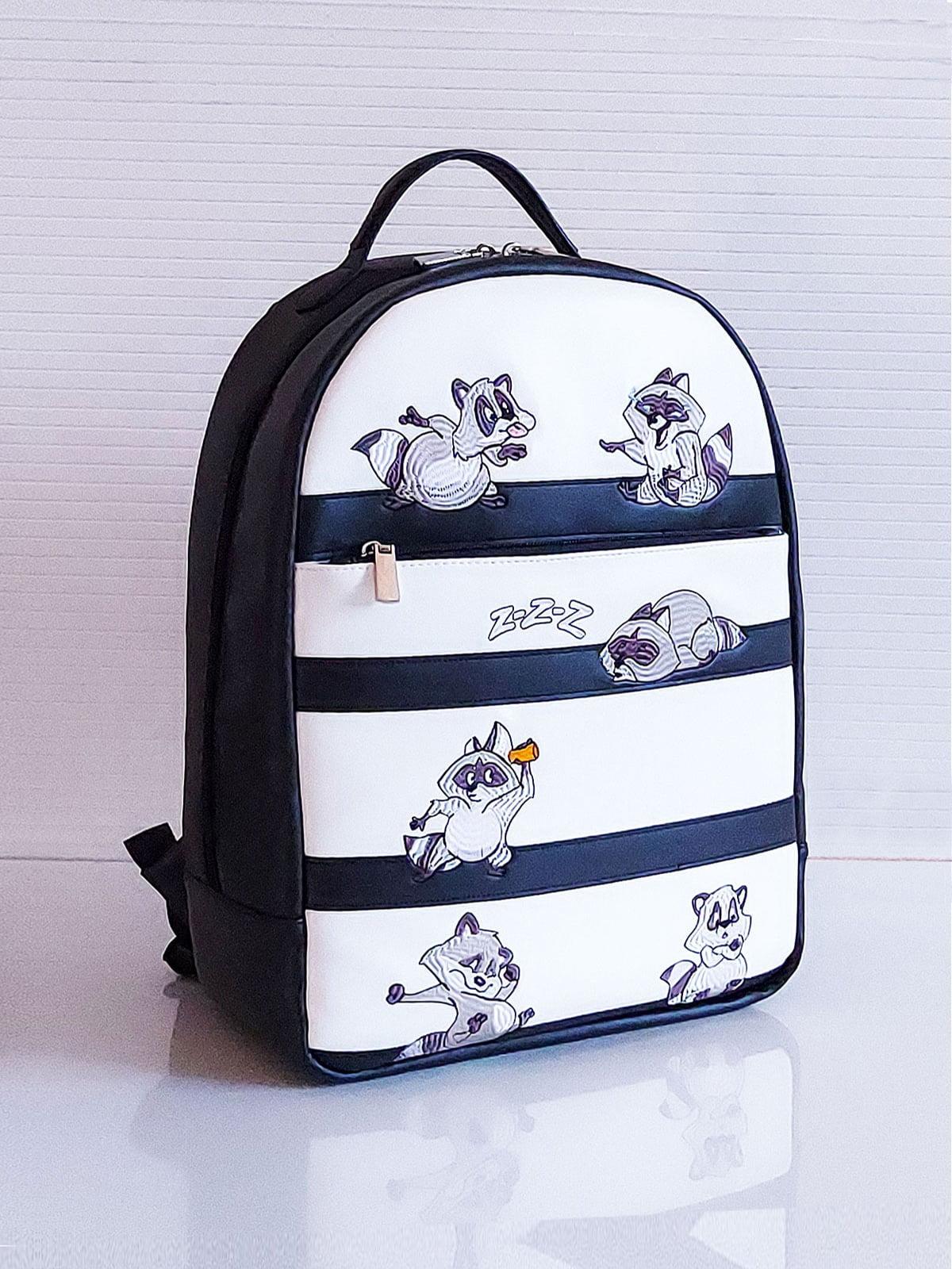 Рюкзак двухцветный с рисунком | 5641291