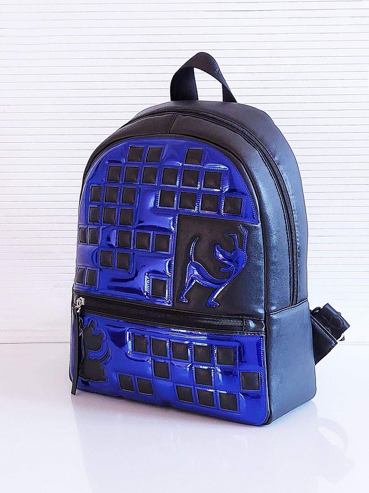 Рюкзак черный с рисунком | 5641297