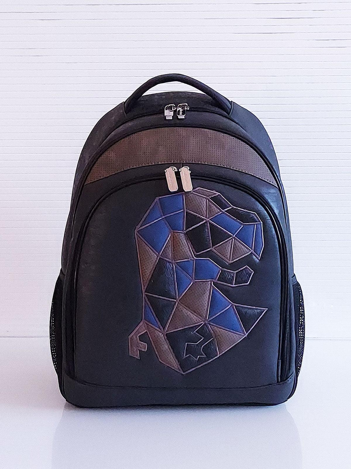 Рюкзак черный с рисунком | 5641311